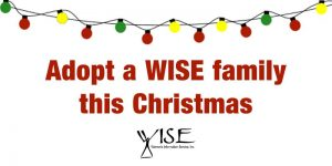 adopt a WISE family this Christmas